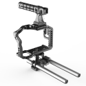 8Sinn A7RII / A7SII CAGE + Top Handle Pro + Rod Support
